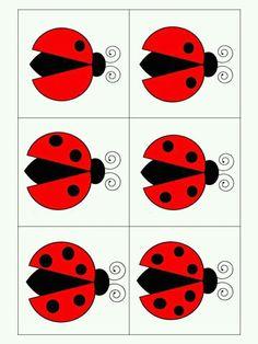 Numbers Preschool, Preschool Math, Montessori Activities, Activities For Kids, Duck Crafts, Ladybug Crafts, Simple Math, School Posters, Kindergarten Reading