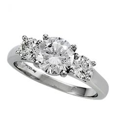 Perfect Twogether® Round Diamond Semi Mounting S#1224