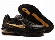 online retailer 39702 ed6e8 cheap air max ltd black glod logo shoes httpairmax-sale. Air Max 1  PremiumBasket Pas CherNike ...