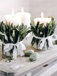 candles wedding decoration ideas hochzeit Gorgeous Olive Green Wedding Color Ideas for 2019 Trends - EmmaLovesWeddings Candles Wedding, Wedding Table, Diy Wedding, Spring Wedding, Wedding Reception, Wedding Cakes, Elegant Wedding, Wedding Wraps, Garden Wedding