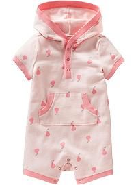 Hooded One-Pieces for Baby