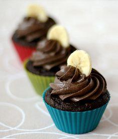 Banana-Chocolate-Cupcakes