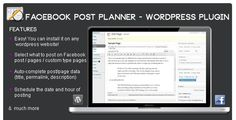 Facebook Post Planner - Wordpress Plugin