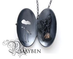 """Golden melaluca trees"" by Shauna Mayben - Oxidised Sterling Silver and Tasmanian smoky quartz -http://www.handmarkgallery.com/tasmanian-artists/artwork.php?id=6769"