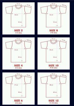 Kids Clothes Patterns, Baby Dress Patterns, Clothing Patterns, T Shirt Sewing Pattern, Sewing Patterns Free, Pants Pattern, Sewing For Kids, Baby Sewing, Sewing Hacks
