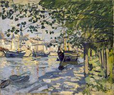 Seine in Rouen- Claude Monet - WikiArt.org