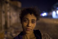 "Natalia Gonzales  a 15 year old crack addict poses for a portrait in a area know as ""crackland"" in the Manguinhos slum - by Felipe Dana  World Press Photo 2013 - Comtemporary Issues / Honorable Mention"