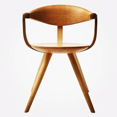 Sori Yanagi, Side Chair, 1950s.