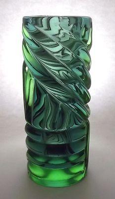 Frantisek Vizner SKRDLOVICE 7532 / 21cm -- Czech art glass