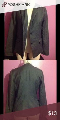 GAP Grey Blazer 2 Button Blazer with Lining 65% Polyester 33% Rayon GAP Jackets & Coats Blazers