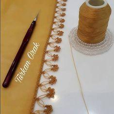 47 Speaking Crochet Floral Beaded Needlework Models Source by birsensedadeniz Crochet Edging Patterns, Baby Knitting Patterns, Crochet Doilies, Knit Crochet, Moda Emo, Hand Work Embroidery, Knit Shoes, Knitted Shawls, Knitting Socks