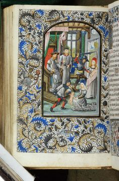 Book of Hours, MS H.7 fol. 74v - Images from Medieval and Renaissance Manuscripts - The Morgan Library & Museum