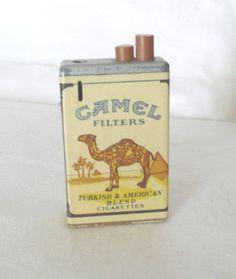Vintage Camel Cigarette novelty Lighter