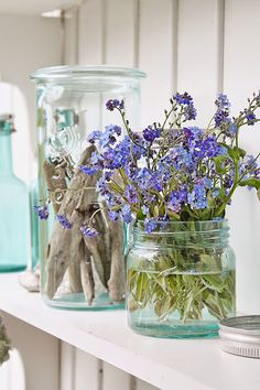 VIBEKE DESIGN: Forget-Me & creative with recycling!