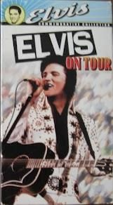 """ELVIS 1972 """"ON TOUR"""" MOVIE 1988"""
