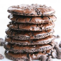 Gluten Free Mint Chocolate Cookies