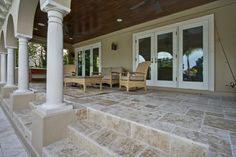 Tile Porch