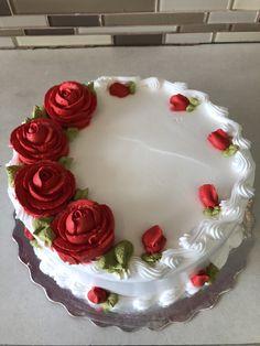 Cake Decorating Designs, Creative Cake Decorating, Cake Decorating Videos, Cake Decorating Techniques, Creative Cakes, Cake Icing, Buttercream Cake, Cupcake Cakes, Simple Cake Designs