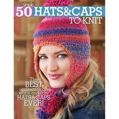 Soho Publishing - 50 Hats & Caps To Knit
