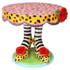 We love any occasion where we can have cake, right? Why not perk up the party with one of these fun cake stands? You've seen your run of the mill...