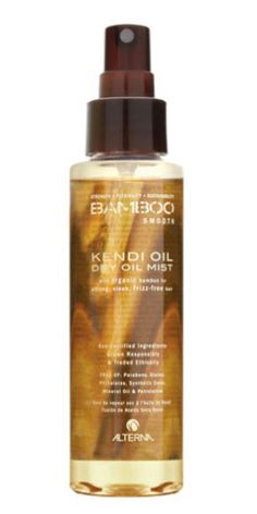 "Alterna Bamboo Smooth Kendi Dry Oil Mist: ""I'm kind of obsessed with Alterna Bamboo Kendi Oil. It comes in a spray bottle and I use it on almost everyone. It's so lightweight"