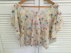 Butterfly Top by Beach Pixie made from organic Japanese cotton