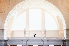 This couple who let their love shine through: | 29 City Hall Weddings That Prove Less Is More