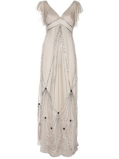 Deco Wedding Dress | visit farfetch com