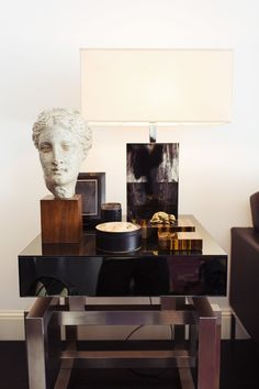 I was perusing Pinterest while lying in bed this morning and came across a photo of this very masculine chic apartment in Milan. It belongs to fashion designer Andrea Pompilio and was just featured on The Selby.While I love the art and accessories in the living spaces and the bedroom, I really appreciate the sleek […]
