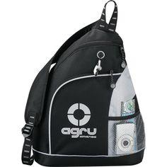 123c64652bf Twister Sling - Sling bag made of 600d polycanvas. Sling Bags, Sling  Backpack,
