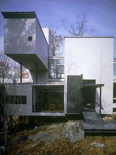 Nomentana Residence | Stoneham, Maine | Mack Scogin Merrill Elam Architects | photo © Timothy Hursley