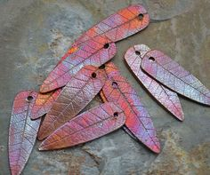 beautiful copper leaves