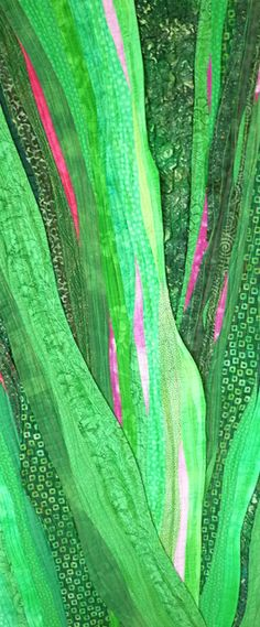 New Growth by Sheila Finzer, Terrebonne, Oregon.  Joen Wolfrom's color challenge.