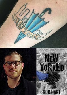 10 Authors with Tattoos Inspired by Their Own Books