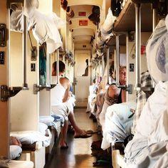 Transiberian intimacy. #russia #siberia #transiberian #train #crowded #travel #journey #wanderlust by stefanomelgrati