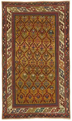 FEATURED ARRIVAL: SHIRVAN, Southeast Caucasian 2ft 10in x 4ft 11in Circa 1875 http://www.claremontrug.com/antique-oriental-rugs-carpets/