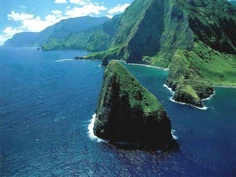 Molokai's east-end rainforest  / Hawaii....ONE DAY WILL MAKE IT HERE