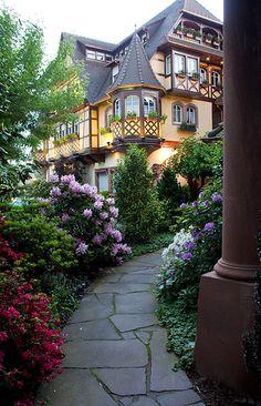 Obernai, Alsace Park Hotel,