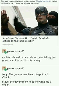 Yas but cap is amazing and he was definitely right in Civil War so frick u tony<< admittedly I was on team cap, but don't you dare disrespect Tony Stark Avengers Memes, Marvel Memes, Marvel Dc Comics, Marvel Avengers, Captain Marvel, Avengers Cast, Univers Marvel, Loki, Dc Memes