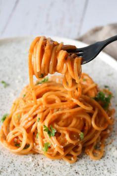 Vegetarisk One Pot Pasta Med Pesto – One Kitchen – A Thousand Ideas