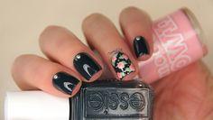 Essie rose nails.
