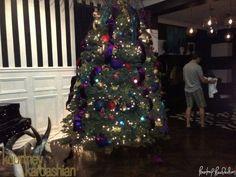 Love the Tree & wall dress (Kourtney Kardashian's home)