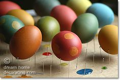 How to dye Easter eggs and get gorgeous results: German-style Easter egg coloring tips & tricks for white and brown eggs.
