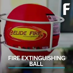 Put out fires by throwing this ball at them.