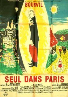 Affiche : Seul dans Paris (retirage) in DVD, cinéma, Objets de collection, Affiches, posters | eBay #chrisdeparis 385€