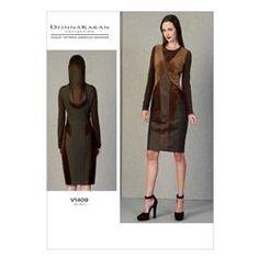 Vogue Misses' Dress Pattern V1409 Size A50