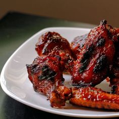 Pressure Cooker Wings with Bourbon Honey Sauce1