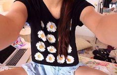 Love daisy print