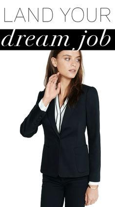 Whether you want to be the CEO of a major corporation, or a creative force at your favorite marketing firm, your interview outfit is your first chance to make a good impression on your potential employer. If you're interviewing with a top executive, go for a classic blazer, Portofino and Columnist pant to show your professional side. If you're dream job is in the creative industry, add personality to a pencil skirt with a black and white contrast sweater and solid jacket.