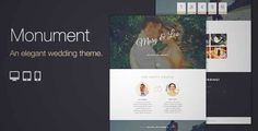 Monument - Responsive Wedding Wordpress Theme   DOWNLOAD & REVIEW {Download & review at Review and download at} { -> }http://best-wordpress-theme.net/monument-responsive-wedding-download-review/